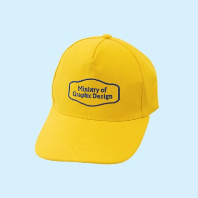 Picture of Ministry of Graphic Design Cap (Yellow)