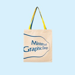 Picture of Ministry of Graphic Design Two-Tone Tote Bag